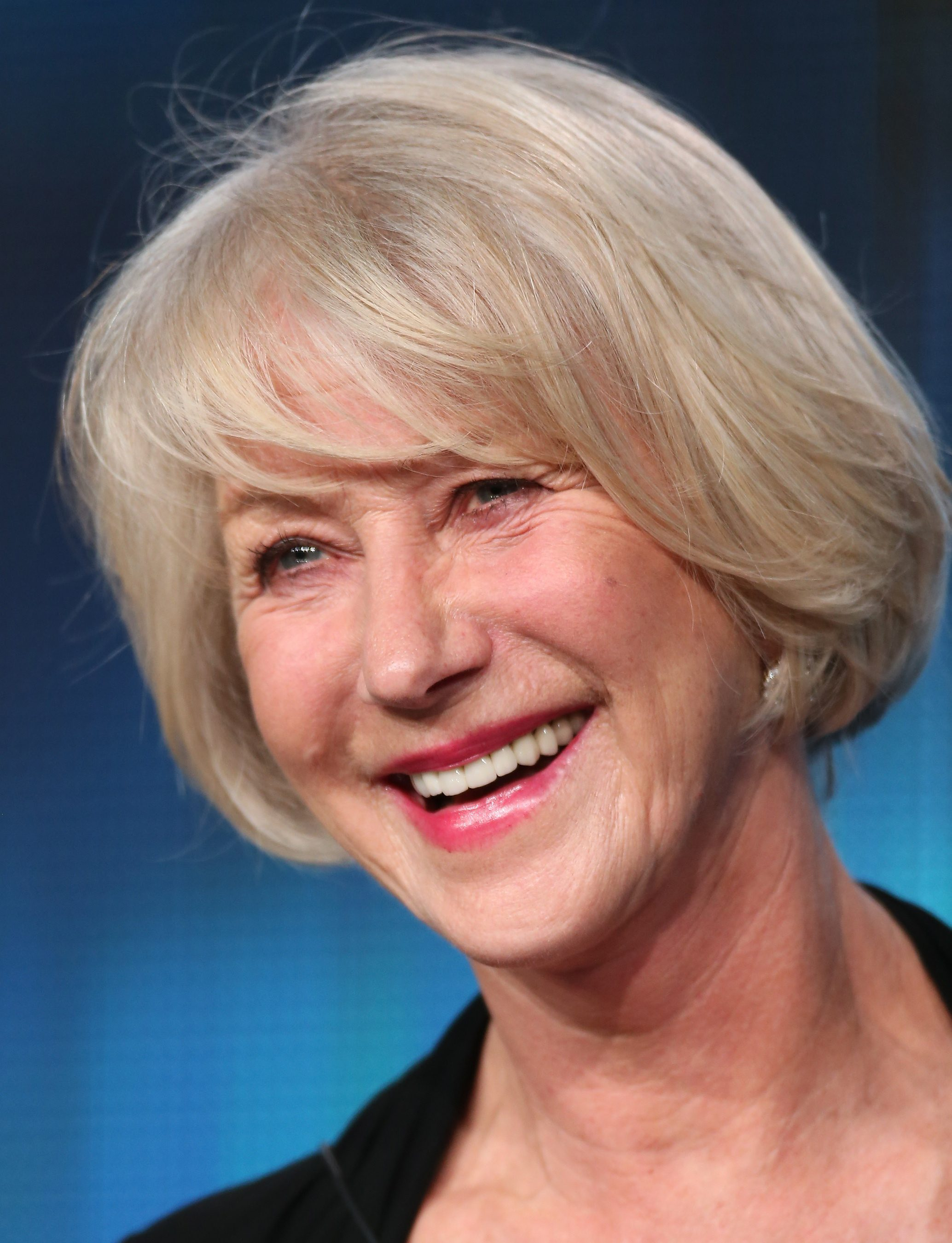 Hairstyles for Older Women Helen Mirren