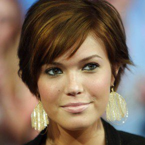 Short Hairstyles With Bangs 2013