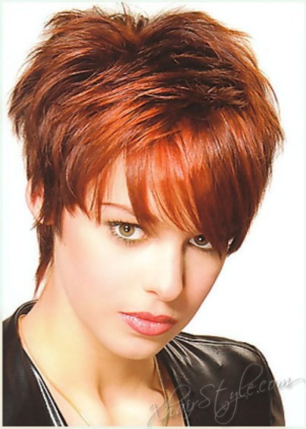 Pictures of Short Hairstyles Women Over 40