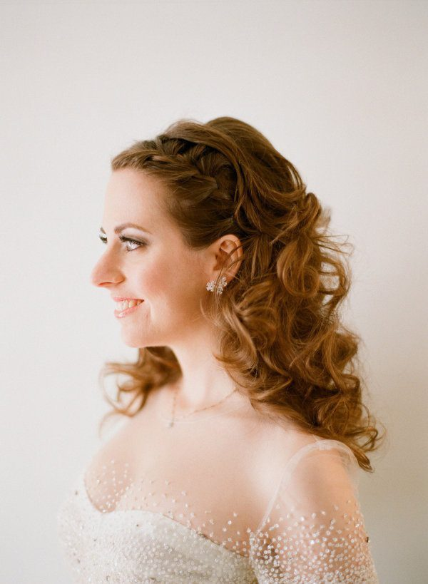 Wedding Hairstyles Down With Braids | Behairstyles.com