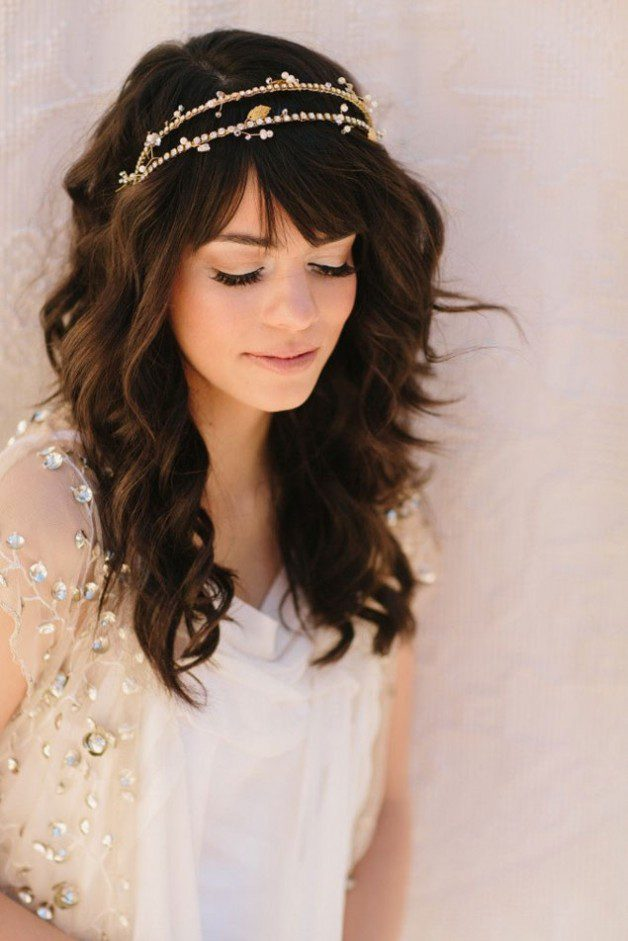Wedding Hairstyles Half Up With Tiara | Behairstyles.com