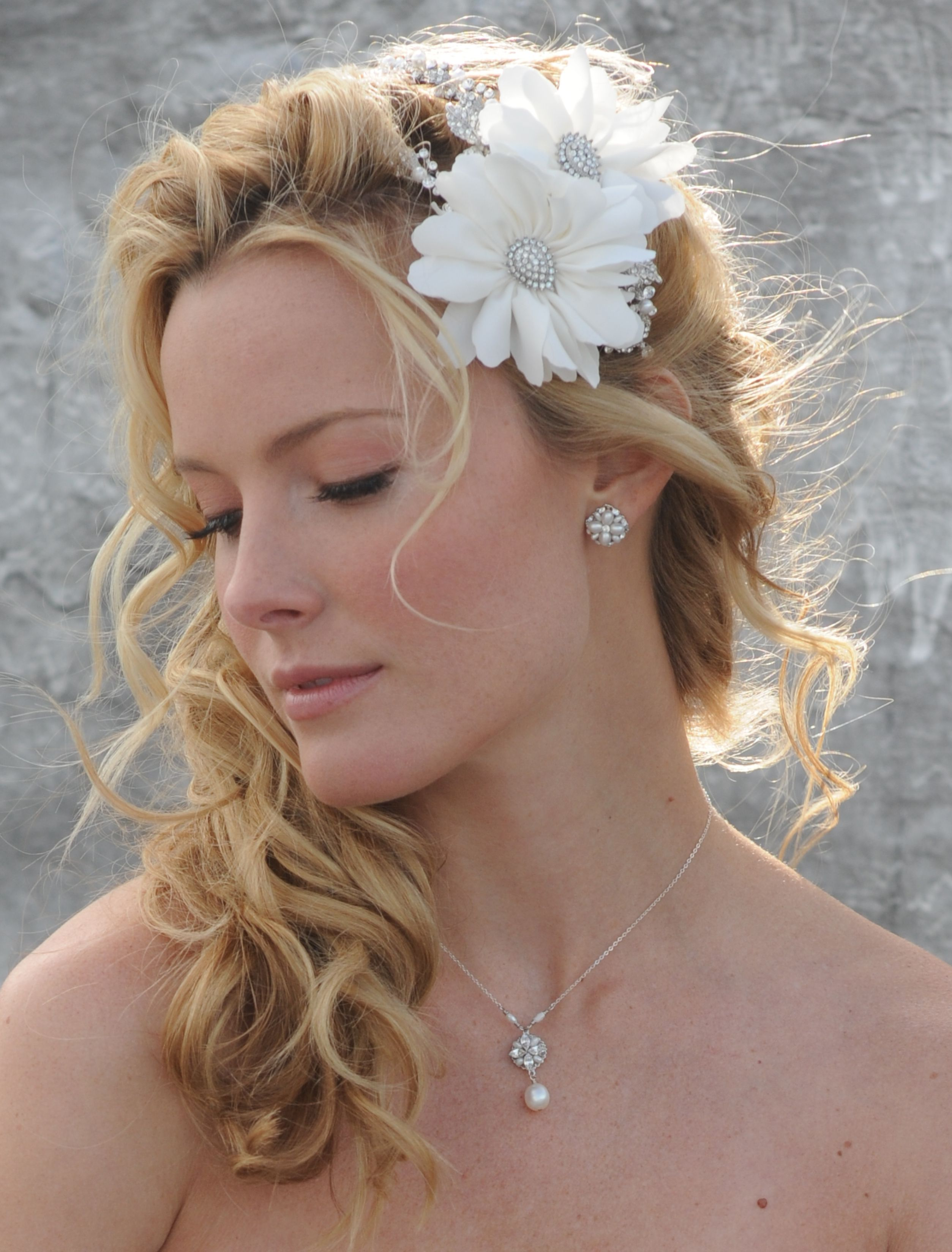 Wedding Hairstyles Pulled To The Side Pictures