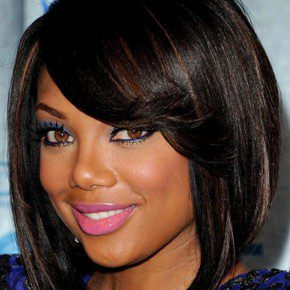 African American Hairstyle for Round Faces Women