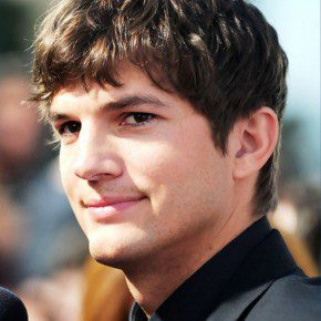 Ashton Kutcher Layered Short Haircut For Men