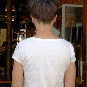 Back View Of Trendy Short Haircuts