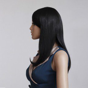 Black Bob Hairstyles Middle Part