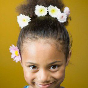Black Kids Hairstyles for Weddings