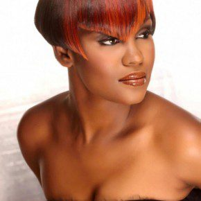 Black Women Short Hairstyles for Oval Face