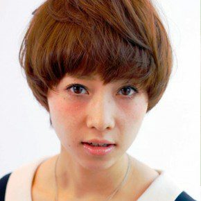 Boyish Japanese Hairstyle For Women
