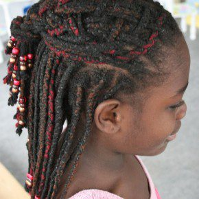 Braided Hairstyles For Kids With Weave