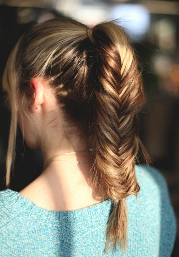 Braided Hairstyles For Long Hair Pinterest | Behairstyles.com