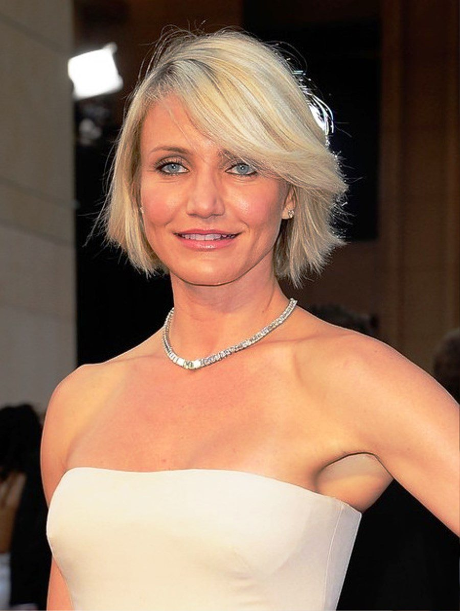 Pictures of Cameron Diaz Bob Hairstyle