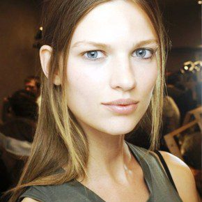 Center Parting Hairstyles 2013