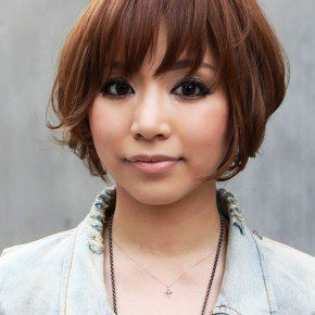 Cool Short Japanese Women Hairstyles 2013