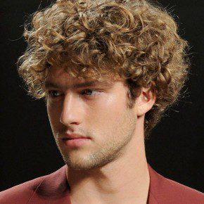 Curly Japanese Hairstyles For Men
