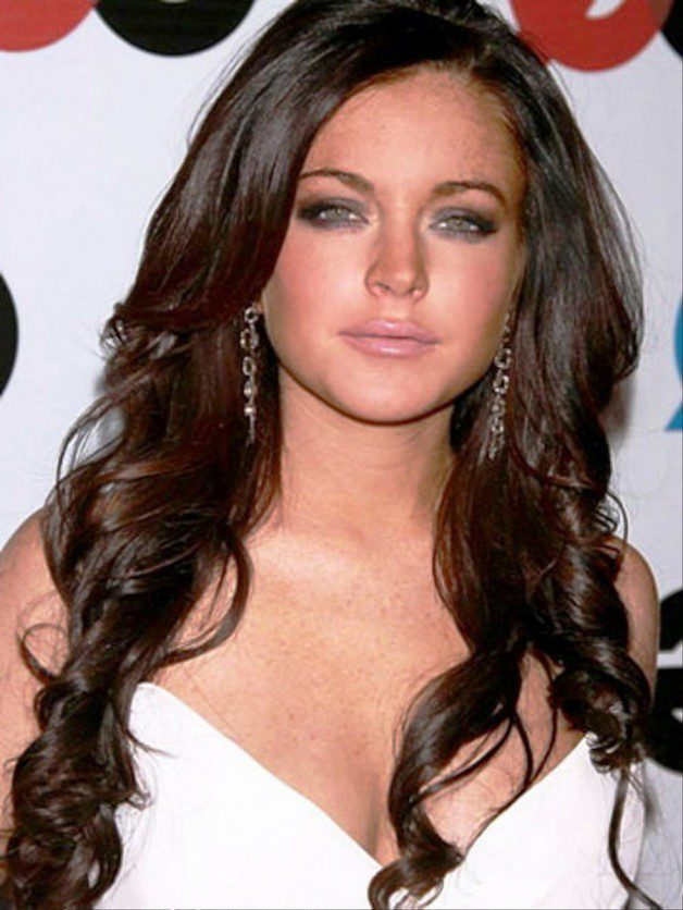 Curly Long Hairstyles For Round Faces   Behairstyles.com
