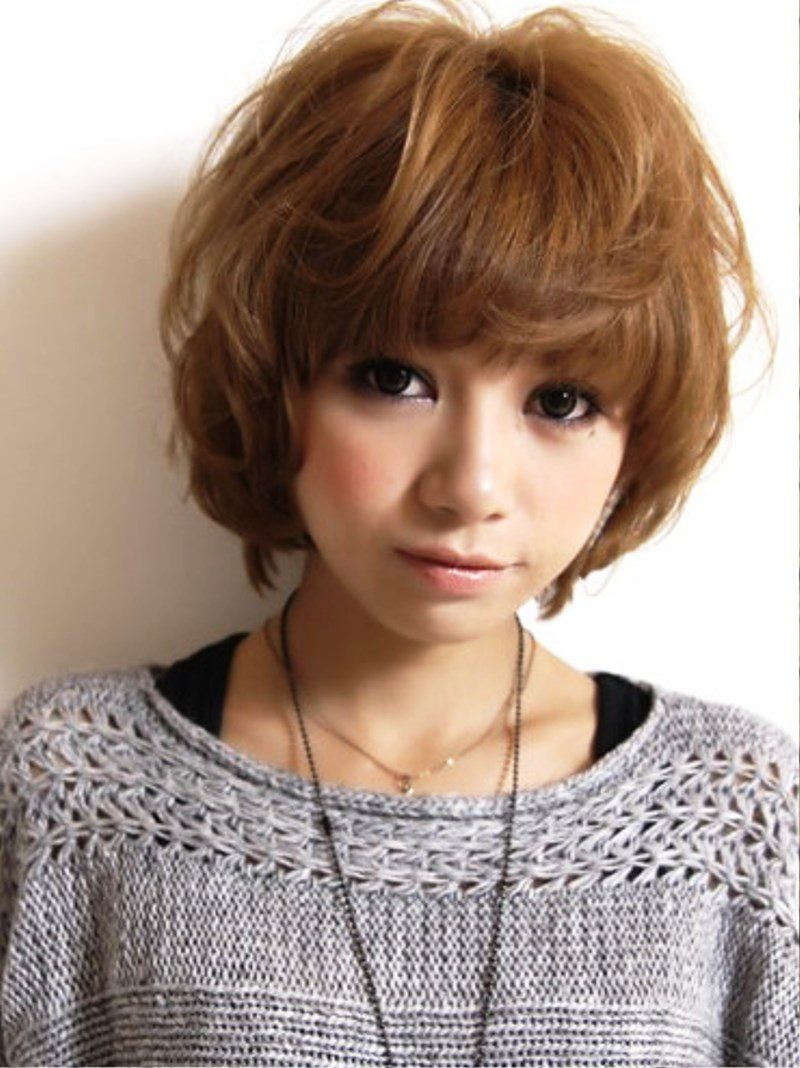Pictures of Cute Short Japanese Hairstyles 2013