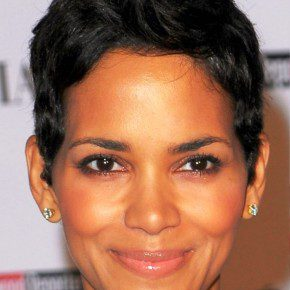 Halle Berry Short Pixie Haircut