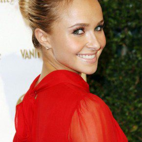 Hayden Panettiere Classic Bun For Party