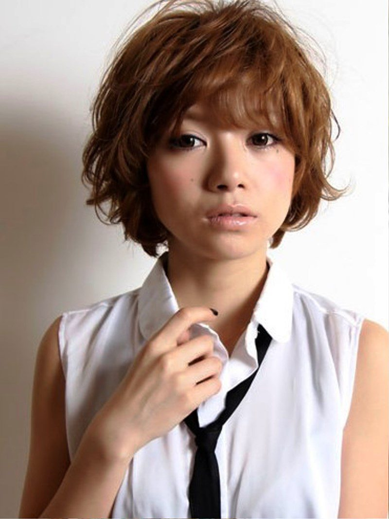 Pictures of Japanese Girls Short Haircut