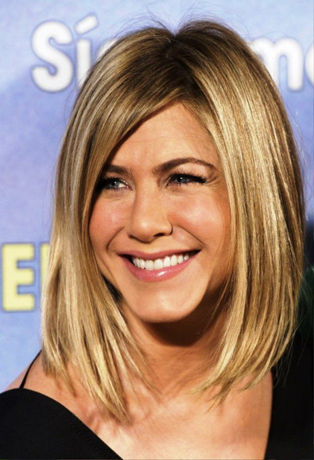 Jennifer Aniston Long Bob | Behairstyles.com
