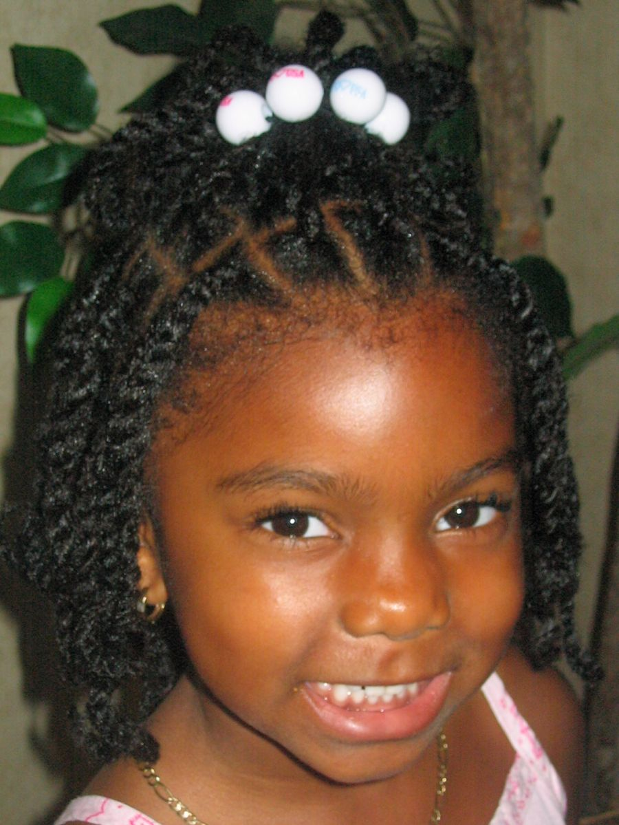 Kids Hairstyles African American Girls Pictures