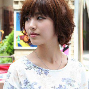 Layered Short Asian Bob Haircut
