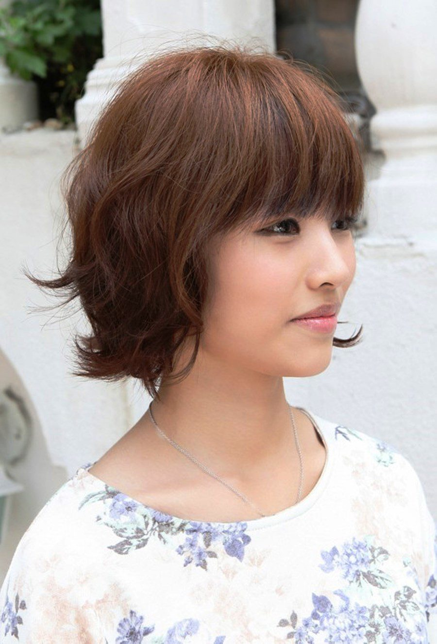Fabulous Short Layered Bob Hairstyle with Bangs 900 x 1326 · 173 kB · jpeg