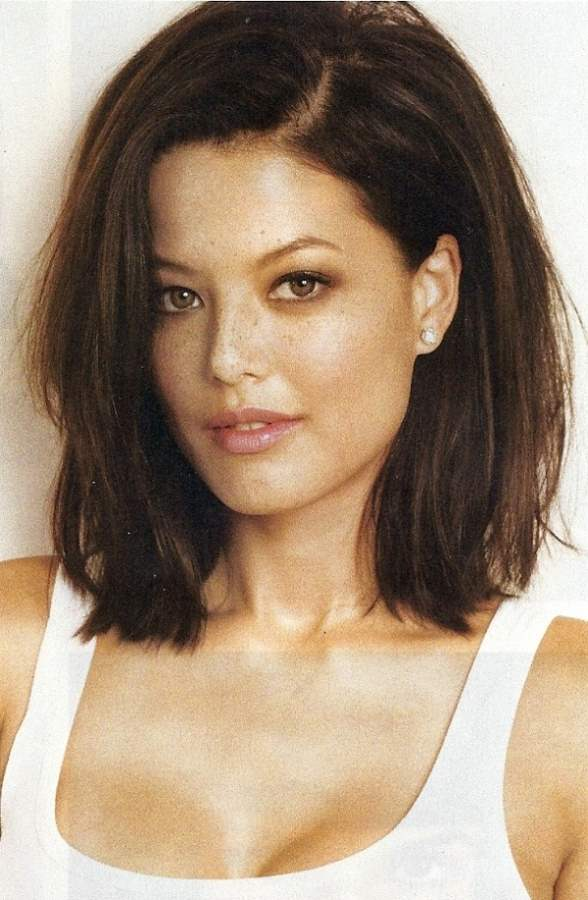 Long Bob Hairstyles Thick Hair | Behairstyles.com