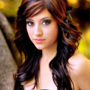 Long Curly Hairstyles With Hair Highlights