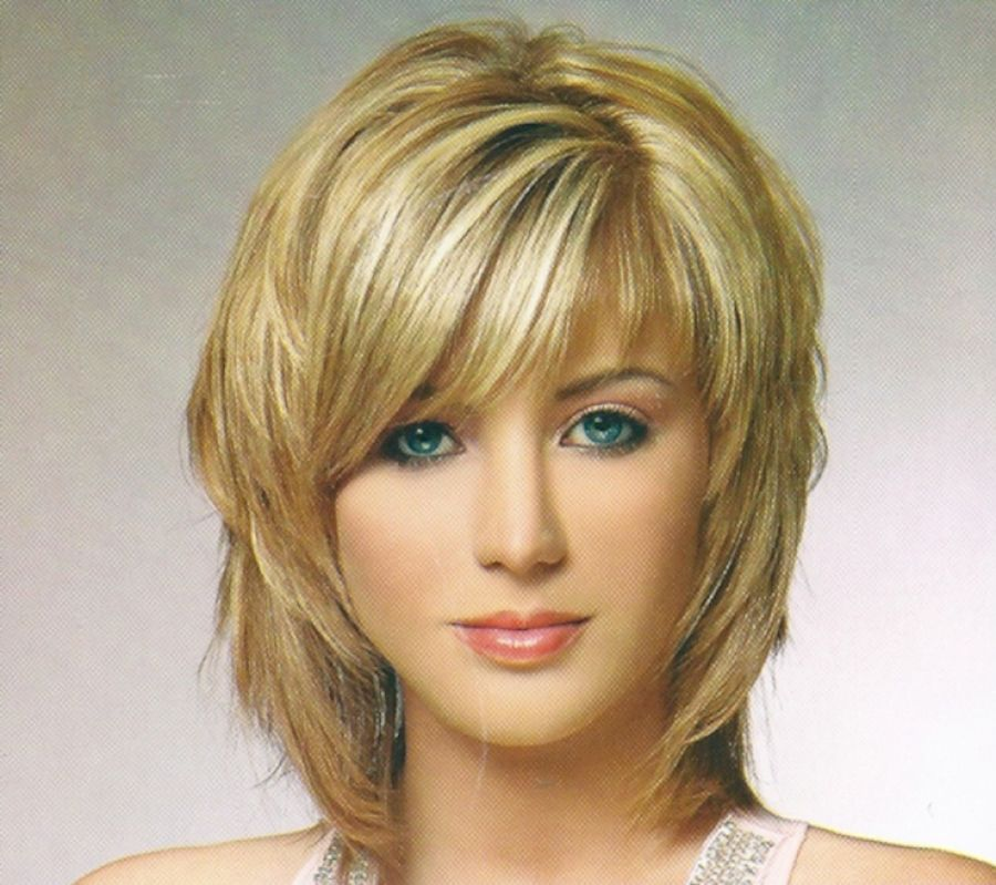 Pictures of Medium Hairstyles For Fine Hair