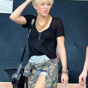 Miley Cyrus New Short Hairstyles
