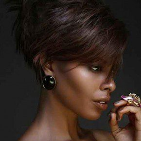 Really Short Hairstyles for Black Women