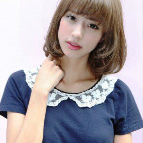 Short Asian Bob Hairstyle For Women