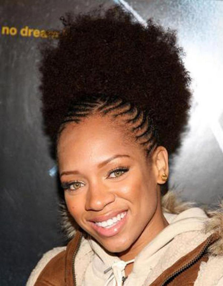 Short Natural Hairstyles for Black Women 2014