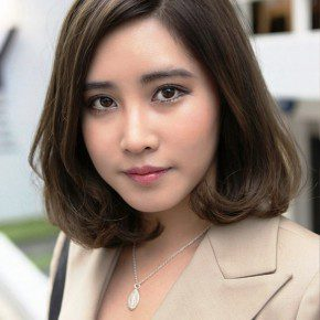 Short Japanese Haircut For Office Ladies