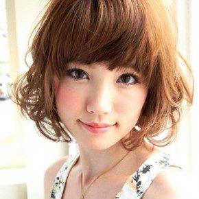 Short Japanese Hairstyle For Ladies