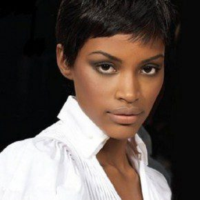 Short Natural Black Hairstyles Pictures