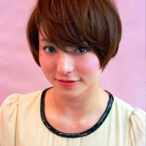 Short Straight Japanese Bob Haircut