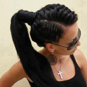 Sophisticated Black Hairstyles 2013
