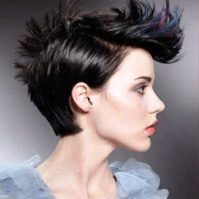 Women Punk Short Hairstyles