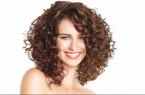 Big Curly Hair Hairstyle
