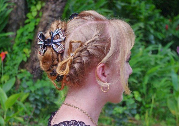 Easter Braid Hairstyle