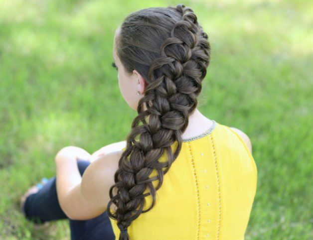 cool easter hairstyle