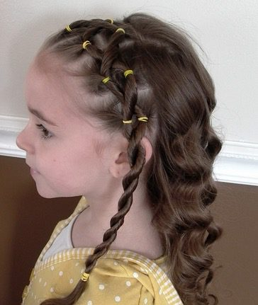 Kids Easter Hairstyle