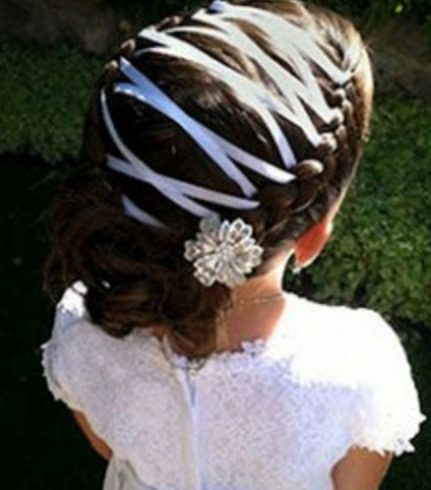easter ribbon hair ideas