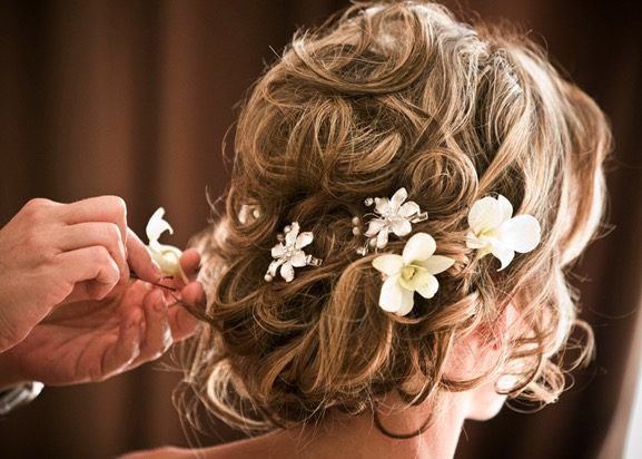 Easter Spring Wedding Hairstyle