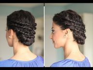 Elegant Up Do Curly Hair