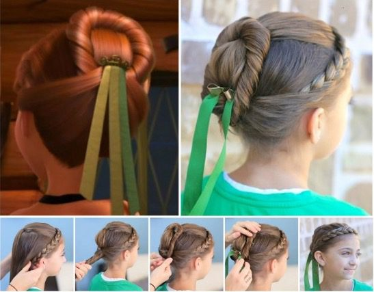 Frozen Princess Hairstyle