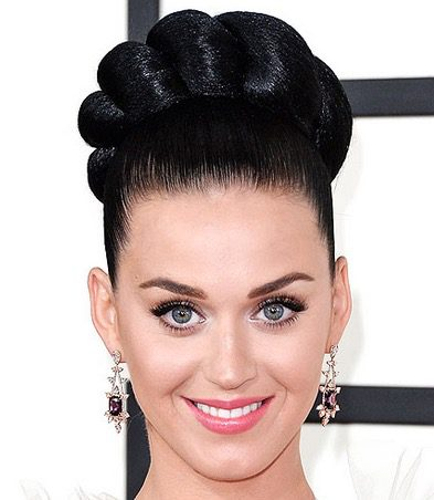 Golden Globes Hairstyles Katy Perry